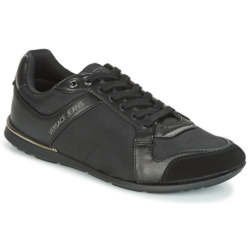 Chaussures Homme Baskets basses Versace Jeans TERU Noir