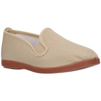 Chaussures Garçon Baskets mode Potomac 295 (N) beige