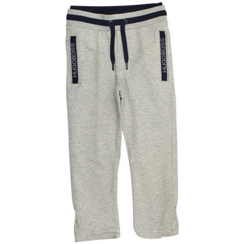 Vêtements Garçon Pantalons de survêtement HUGO Pantalon de survêtement Hugo Boss Junior - Ref. J24P00-A33 Gris