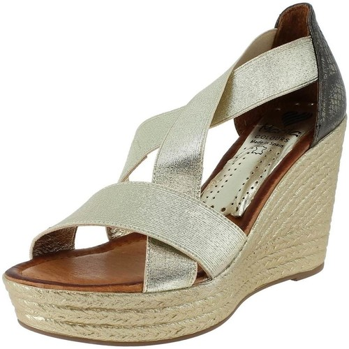 Marila 211 Doré - Chaussures Sandale Femme