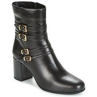 Chaussures Femme Bottines Unisa OPRA Noir