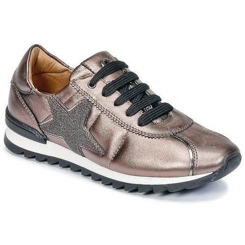 Chaussures Fille Baskets basses Unisa DONYA Bronze