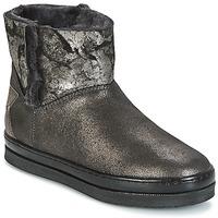 Chaussures Fille Boots Unisa FIS Argenté