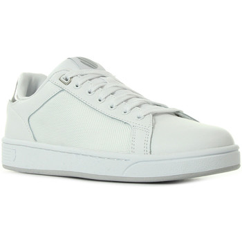 Chaussures Femme Baskets mode K-Swiss Clean Crtt Cmff White Silver blanc