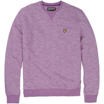 Vêtements Sweats Lyle & Scott SWEAT LYLE&SCOTT COL ROND MARL CURRANT VIOLET