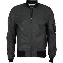 Vêtements Blousons Alpha VESTE  INDUSTRIES  MA-1 REFLECTIVE NOIR NOIR