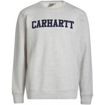 Vêtements Sweats Carhartt Sweat  college Ash Heather/Blue GRIS
