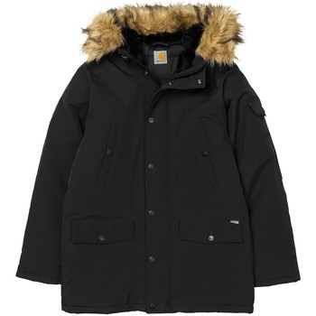 Vêtements Parkas Carhartt PARKA ANCHORAGE NOIR NOIR