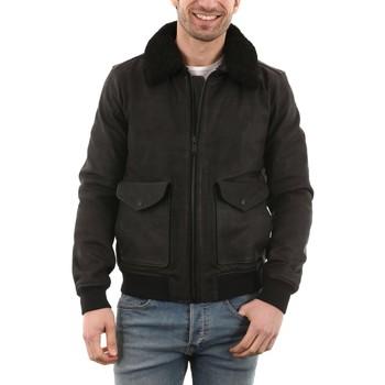 Vêtements Homme Vestes en cuir / synthétiques Chevignon B-Cloudy Noir Noir