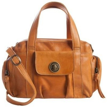 Sacs Femme Sacs porté épaule Pieces Sac en cuir  Mini Totally Royal marron