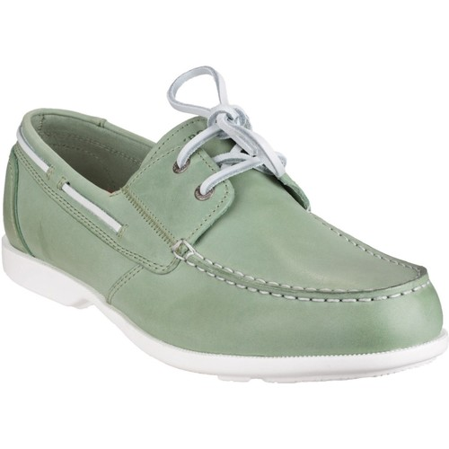 Rockport Summer Sea 2 Eye Green - Chaussures Chaussures bateau Homme