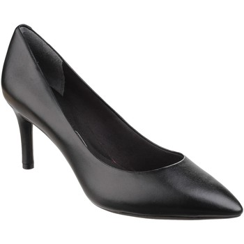 Chaussures Femme Slips on Rockport Total Motion Point Black