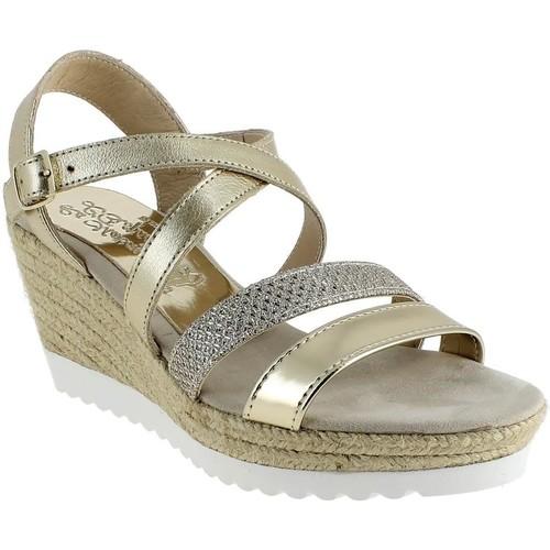 La Maison De L'espadrille 290 Doré - Chaussures Sandale Femme
