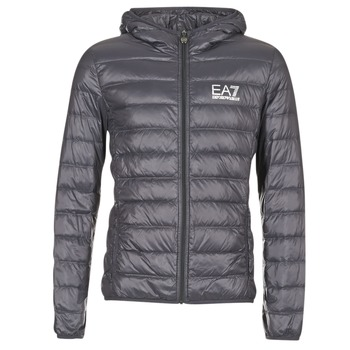 Vêtements Homme Doudounes Emporio Armani EA7 TRAIN CORE ID DOWN LIGHT HD  Gris ce3cb29de21