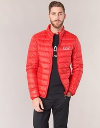 Vêtements Homme Doudounes Emporio Armani EA7 TRAIN CORE ID DOWN LIGHT JKT Rouge