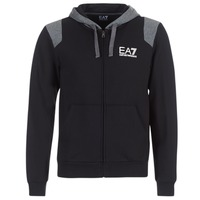 Vêtements Homme Sweats Emporio Armani EA7 TRAIN TRITONAL M HOODIE FZ Noir