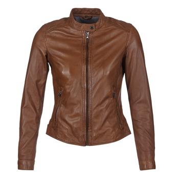 Vêtements Femme Vestes en cuir / synthétiques Oakwood 62578 Camel