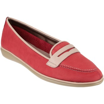 Chaussures Femme Ballerines / babies The Flexx Orise Nubuck Red
