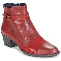 Chaussures Femme Bottines Dorking DALMA Rouge
