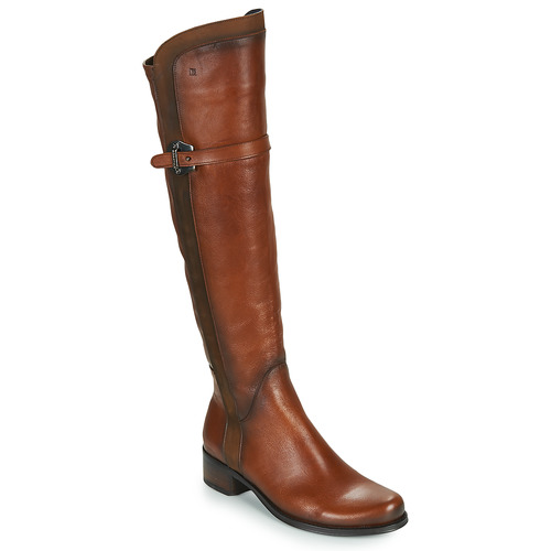 Dorking DULCE Camel - Livraison Gratuite avec  - Chaussures Botte ville Femme