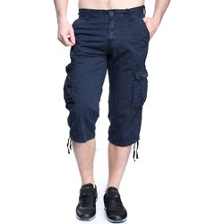 Vêtements Homme Shorts / Bermudas Kenzarro Kd 67028 Midnight Blue Bleu