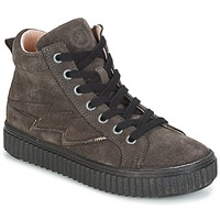 Chaussures Fille Baskets montantes Acebo's LONDON Gris