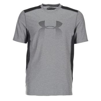 Vêtements Homme T-shirts manches courtes Under Armour UA RAID GRAPHIC SS Gris / Noir