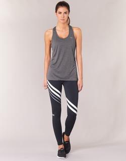 Vêtements Femme Leggings Under Armour FAVORITE LEGGING ENGINEERED Noir / Blanc