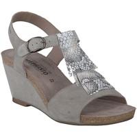 Chaussures Femme Sandales et Nu-pieds Mephisto Sandales cuir JENNY Gris