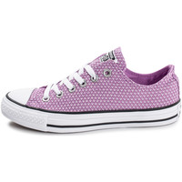 Chaussures Femme Baskets basses Converse Chuck Taylor All Star Ox Fushia Rouge/Violet