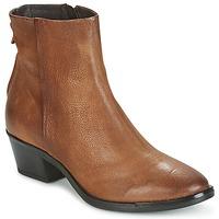 Chaussures Femme Boots Mjus FRESNO ZIP Marron