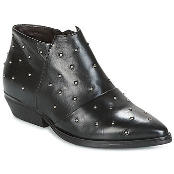 Chaussures Femme Low boots Mjus CHRISSIE STUD Noir