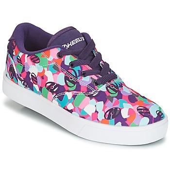 Chaussures Fille Chaussures à roulettes Heelys LAUNCH Violet / Multicolor