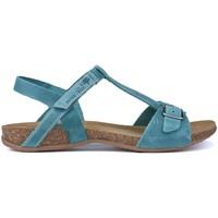 Chaussures Femme Sandales et Nu-pieds Interbios SANDALIA HEBILLA DEDOS JEANS
