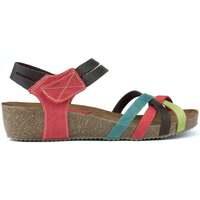 Chaussures Femme Sandales et Nu-pieds Interbios HAPPY COLOURS MULTICOLOR