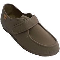 Chaussures Femme Baskets basses Doctor Cutillas Très larges chaussures velcro pieds très beige