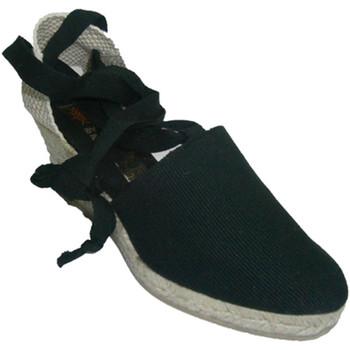 Chaussures Femme Chaussons Andinas Chaussures de Valence liés à la patte de negro