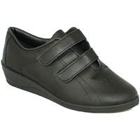 Chaussures Femme Multisport Made In Spain 1940 Femme de sport avec velcro coin Fergar e negro