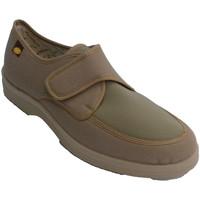 Chaussures Homme Chaussons Doctor Cutillas homme Zaptilla avec velcro très conforta beige