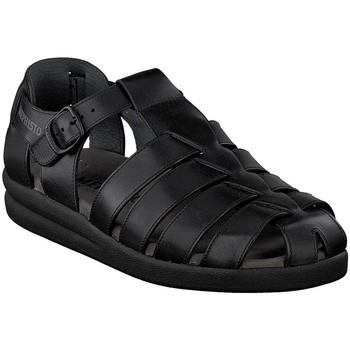 Chaussures Homme Sandales et Nu-pieds Mephisto Sandale cuir SAM Noir