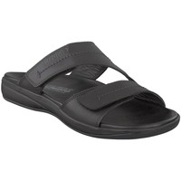 Chaussures Homme Mules Mephisto Sandale cuir STAN Noir