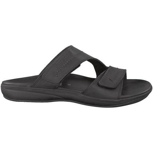 Sandale Stan Mephisto Nu pieds Noir Sandales Homme Et MzqSpVU