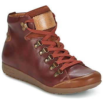 Chaussures Femme Baskets montantes Pikolinos LISBOA W67 Marron