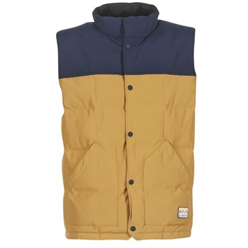 Vêtements Homme Doudounes Element EASTON Marine / Beige