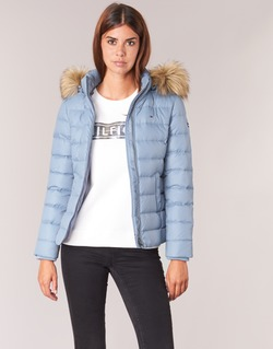 Vêtements Femme Doudounes Tommy Jeans THDW BASIC DOWN JACKET Bleu