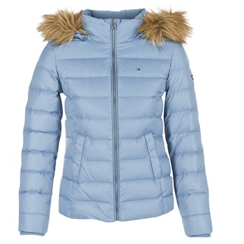 Vêtements Femme Doudounes Hilfiger Denim THDW BASIC DOWN JACKET Bleu