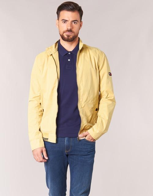 Vêtements Homme Blousons Tommy Jeans THDM BASIC HARRINGTON Beige
