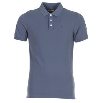 Vêtements Homme Polos manches courtes Tommy Jeans THDM BASIC POLO S/S 1 Gris