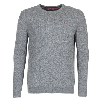 Vêtements Homme Pulls Hilfiger Denim THDM BASIC CN SWEATER 11 Gris