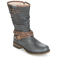 Chaussures Femme Bottes ville Mustang ISALBA Graphite